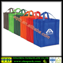 Grocery Tote Shopping Bag/non-woven polypropylene shopping tote bag