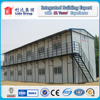 Doha frame prefabricated house or prefab house prices Antiseismic Labour House Steel Portable Cabin