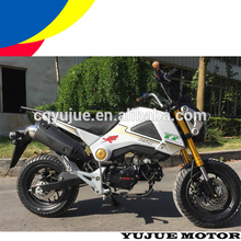 Chongqing on road racing motorbike 135cc/gas powered big engine motor