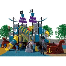 2014 multifunction pirate ship outdoor playgrounds kids slide