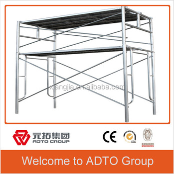 BS1139 Pregalvanized Metal Frame Systerm scaffolding for sale for africa