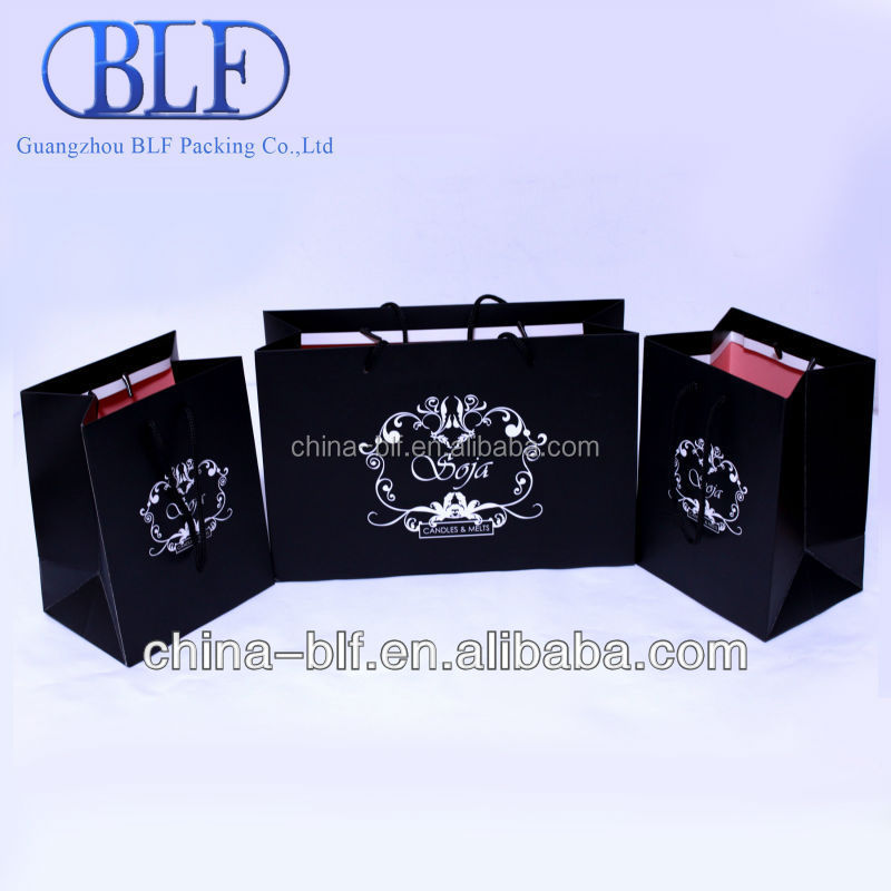 Candle paper bag (BLF-PB428)