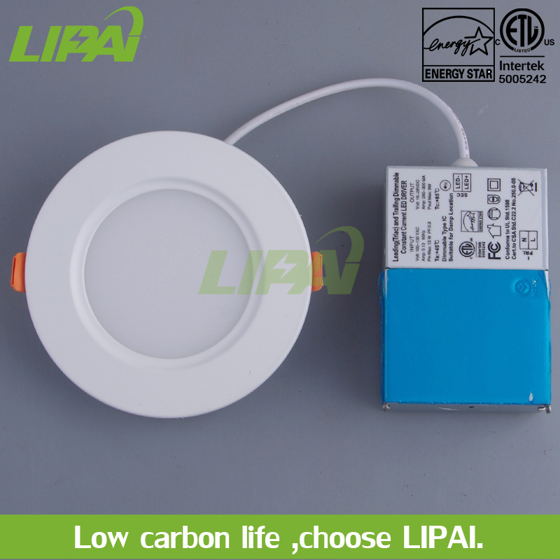 ETL certificate for North American 4inch 9W ultra slim led panel lights