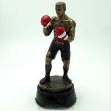 Resin boxing sport trophy boxing figurines