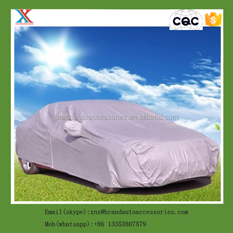 Factory sell Polyester 190T Universal Car Body Cover
