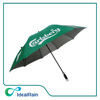 Auto open golf umbrella with uv coated