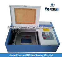 hobby laser engraving machine,FSL2525 jinan small laser machine for rubber stamp making
