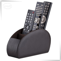 Well pu leather Luxury Remote Control Holder