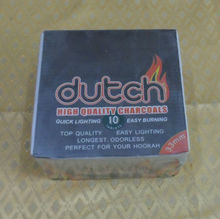 Torch coal Sliver bar Burn longer shisha charcoal