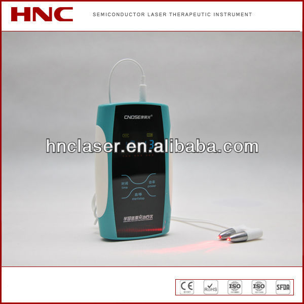 physical therapy 650nm soft cold laser allergic rhinitis laser treatment