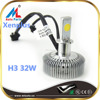 High quality auto parts H3 32W 2800lm 6500K led auto headlight kit