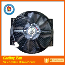 factory export 3 wheel radiator cooling motorcycle fan