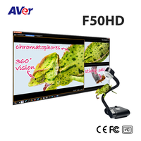 5M, 200X zoom capabilities and image streaming via HDMI, AVer FlexArm Visualizer (Document Camera), AVerVision F50HD