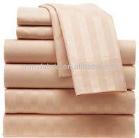 hot sale luxury hotel cotton sateen sheet sets