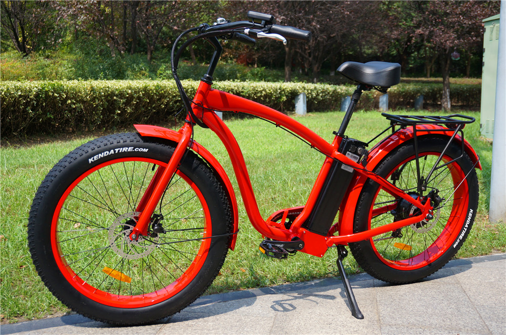 Beach cruiser cheap bicycle electric for sale Manufacturer