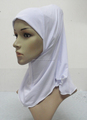 H311 plain small girl hijab,muslim scarf, can order all white