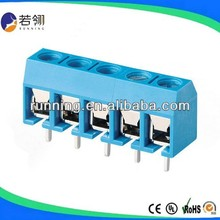 CE PCB Blue Screw Terminal Block Pitch:5.0mm 10.0mm