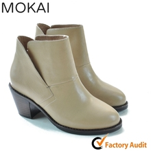 15GRFWS002 CAMEL women winter formal shoes women ankle boots walking shoes for ladies
