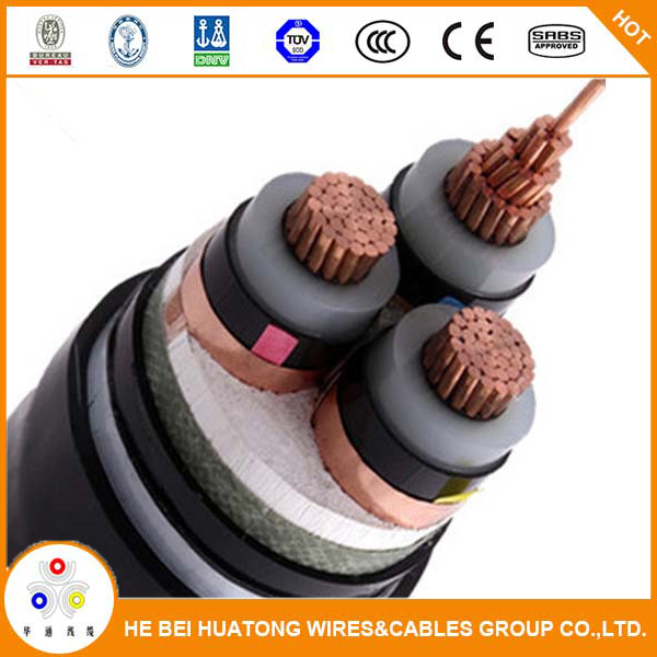 Medium voltage xlpe insualted power cable N2XSY