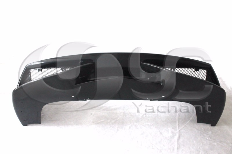 Trade Assurance Portion Carbon Fiber Glass Bodykit Fit For 08-14 LP550 LP560 LP570 LP570-Style FRP Front Bumper Carbon Splitter
