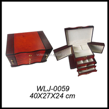Personalized wooden box with lock large stand up jewelry boxes womens jewelry boxes sale