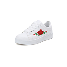 New Design Summer Rose Flower Shoes Women Casual Wholesale Ladies Shoes In China