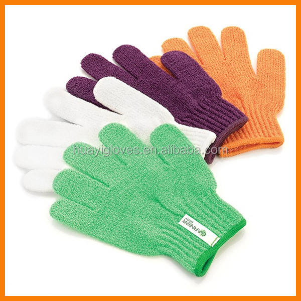 Fashion Nylon Exfoliating Bath Glove Scrub Glove
