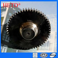 Transmission parts Spur gear steel gear shaft & gear wheel for Machines cylindrical gears SG5047