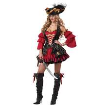 2017 new style funny adult pirate carnival costume for women