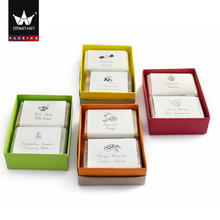 Crownwin Hand Make Recycle Paper Soap Box Packaging