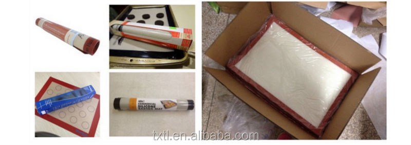 Professional Heat Resistant Silicone Baking Mat,440mmx300mm