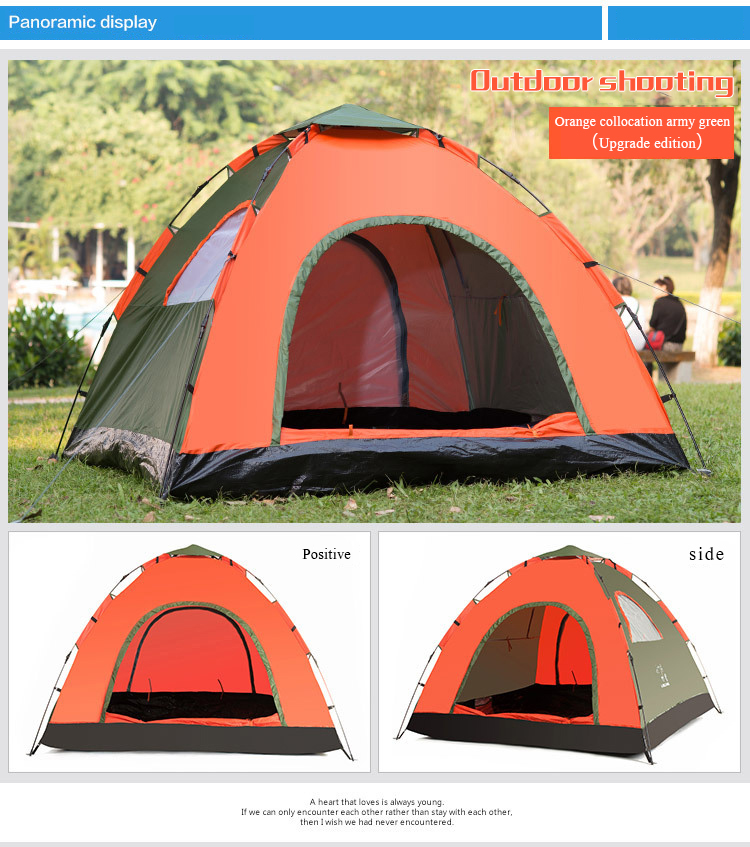 Hot sale widely used 2 person backpacking tent light weight pop up waterproof outdoor camping tents