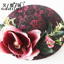 Giant Flower Sinamay Church Hats Ladies Women Fascinators Party Hats for Adult