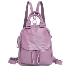PROMOTIONAL leather backpack
