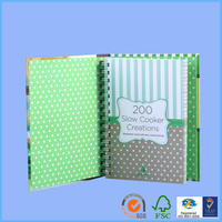 Book rubber bands cheque book printing custom note book