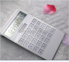 2016 New style company promotion ,preminium gifts solar calculator to customers and employee