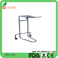 Mayo instrument stand with castors