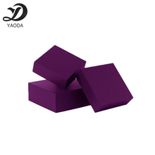 China wholesale purple matte toner cartridge packing color paper box