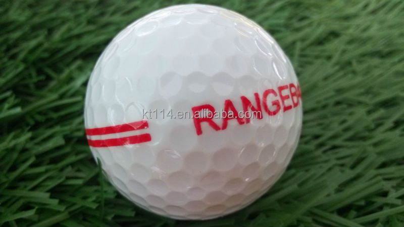 new mould design quality two layer n white and yellow golf range ball