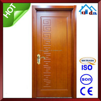 Home Simple House Single Wooden Door Design