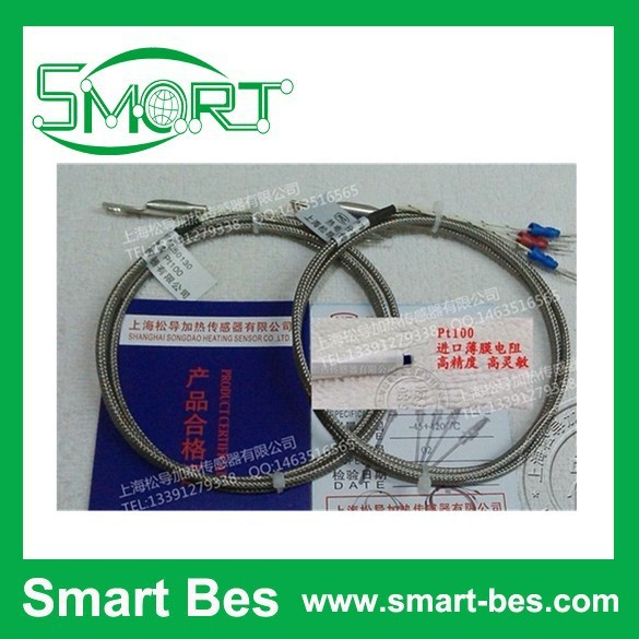Smart Bes K type SMD type surface end thermocouple cold pressing nose probe Pt100 temperature sensor temperature measuring probe
