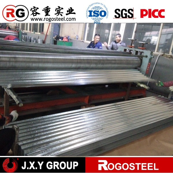 High quality machine grade Sheet Metal Roofing Sale for Export