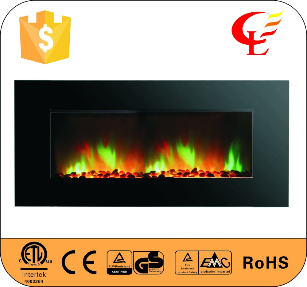 home wall mounted electric decorative fireplaces with CE certified