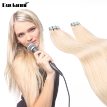 100% Virgin Indian Remy Hair Extensions Factory Price human tape hair