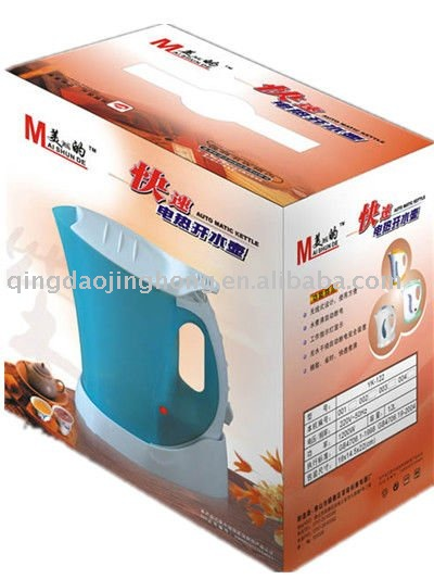 Water heater packing box
