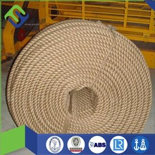 20mm diameter 3 strand sisal rope for sale