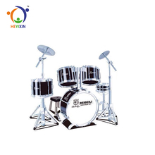 Top quality best sell children educational plastic kids jazz drum set