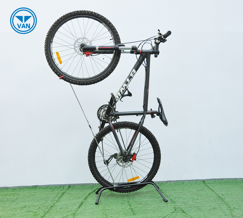 Powder coated indoor bike stand