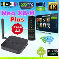 best selling products in american ocean x7 quad core internet tv box android minix neo x8-h plus ott tv box