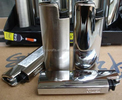 hight quality silver lighter cover with cheap price
